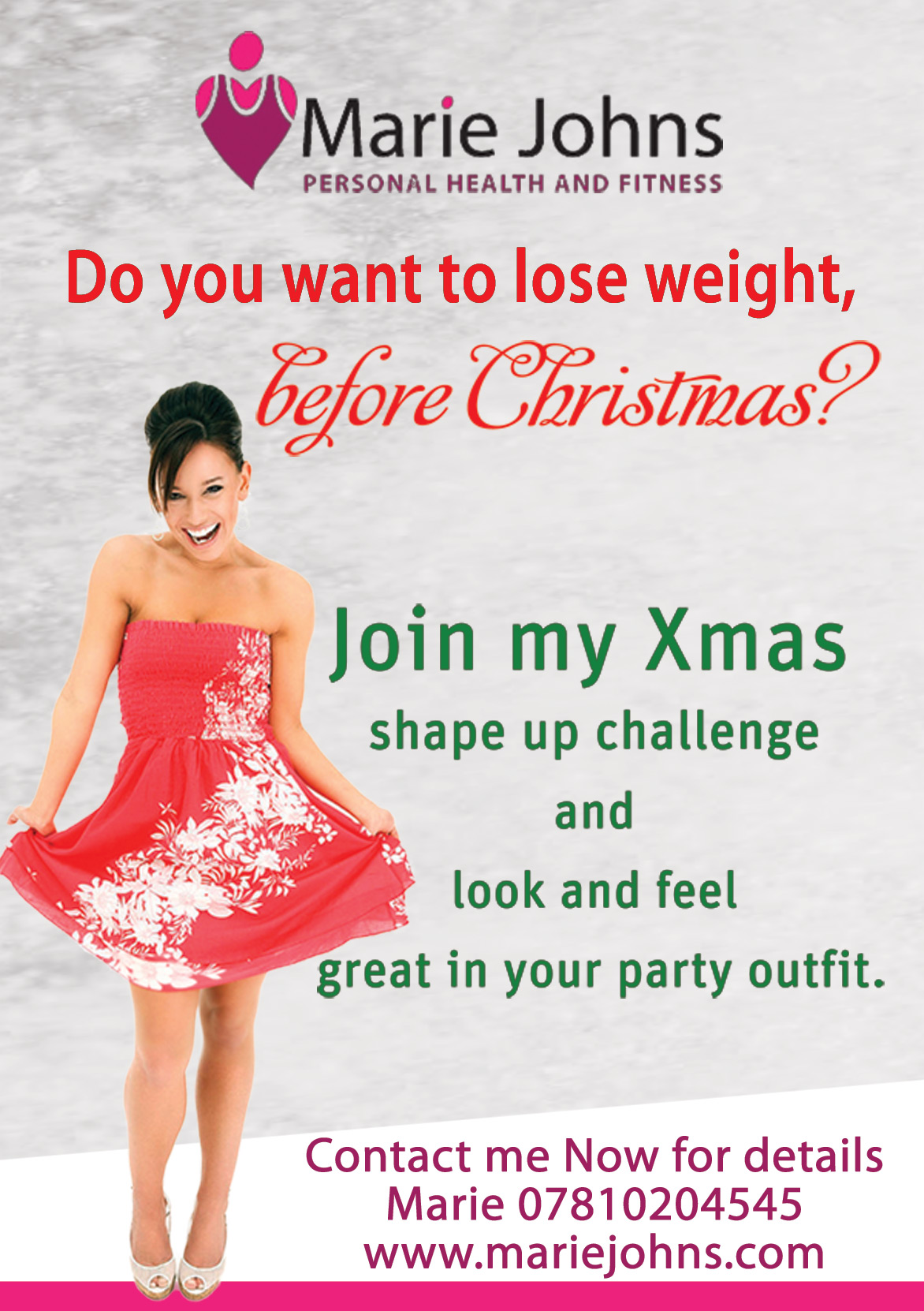 Xmas Shape Up Challenge